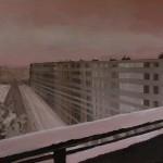 2012 Flat in de sneeuw