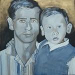 2007 Russische vader met zoon
